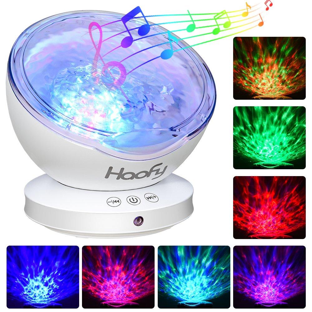 Projektor Lampe Sternenhimmel, Haofy 12 LED Ozeanwelle Projektor Licht Lampe