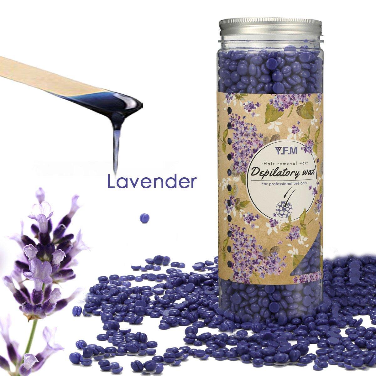wachsbohnen, Luckyfine Lavendel ontharing wachsbohnen heisswachs voor genitale, poten, armen en gezicht ontharing