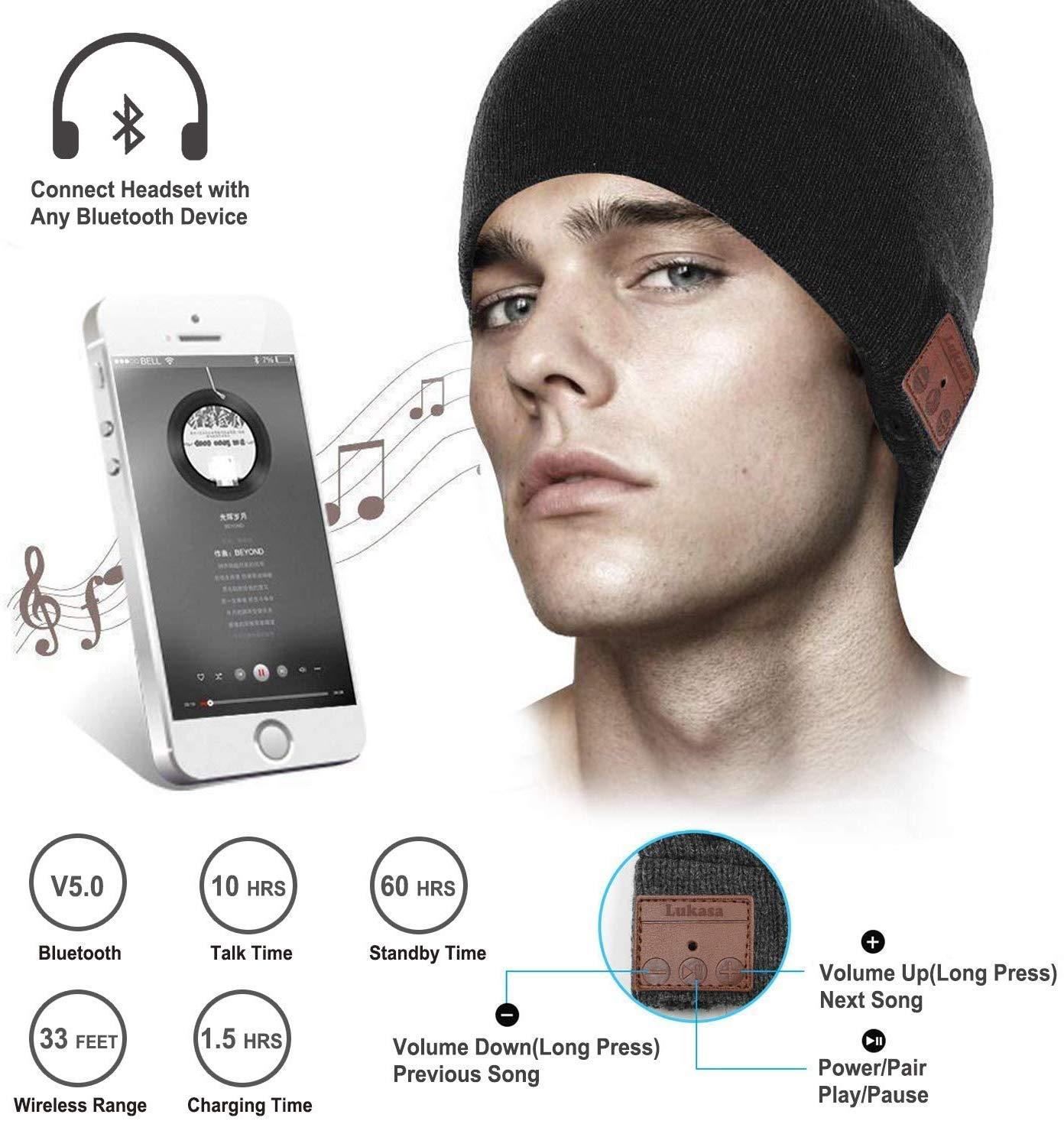 🎁🎁Gewinnspiel🎁🎁 — Bluetooth 5.0 Musik Strickmütze
