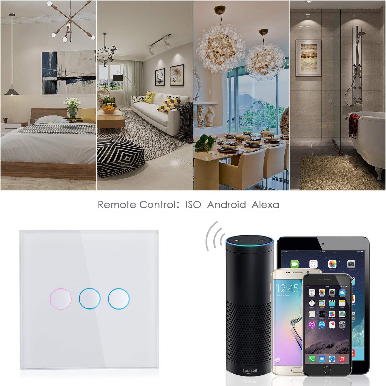 SIMBR Smart Lichtschalter, Alexa lichtschalter