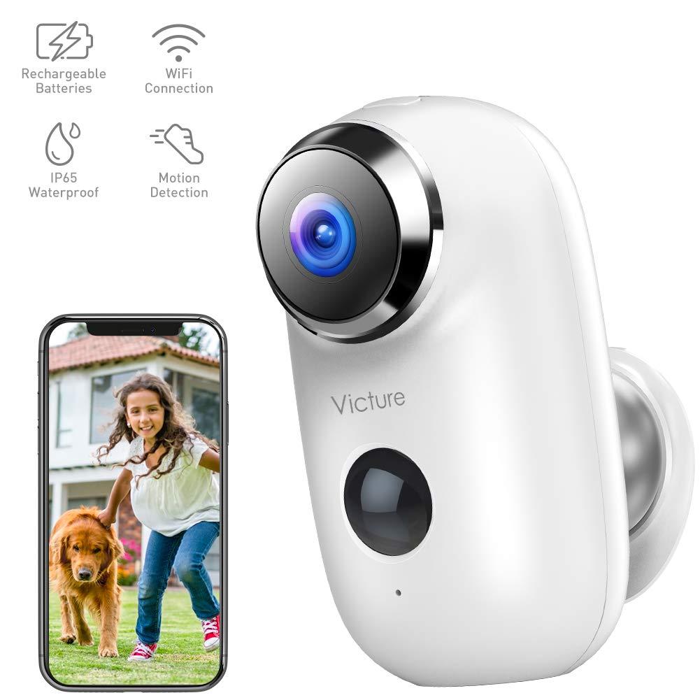 Victure 1080P Akku Überwachungskamera Aussen WLAN IP Home Kamera