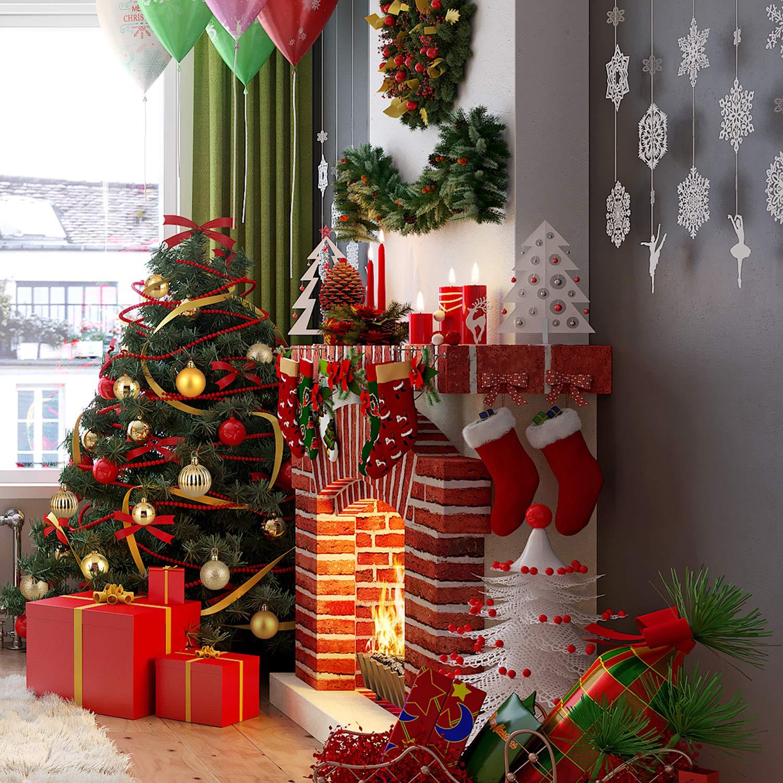 Zogin Weihnachtskugeln Baumkugeln 32 Stück 4cm Gold Christbaumkugeln Weihnachtsdeko