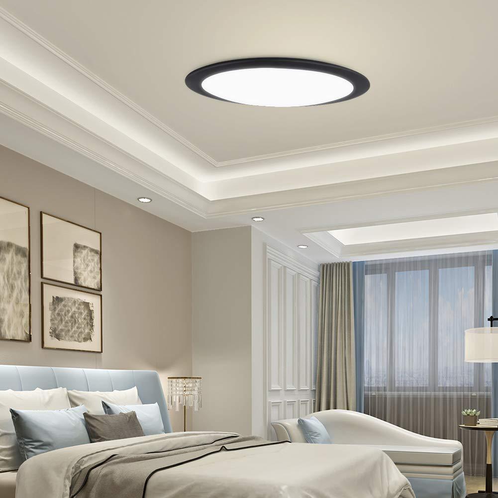 LED Deckenleuchte, Ultraslim Modern Deckenlampe