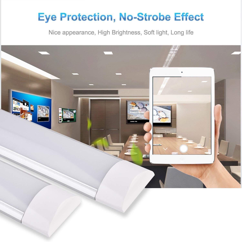 Sararoom LED Lichtleiste Warmweiß 20W