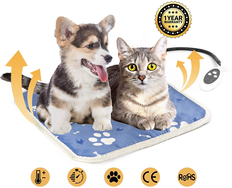 Haustier Heizkissen Heizdecke Wärmedecke für Katzen Hund