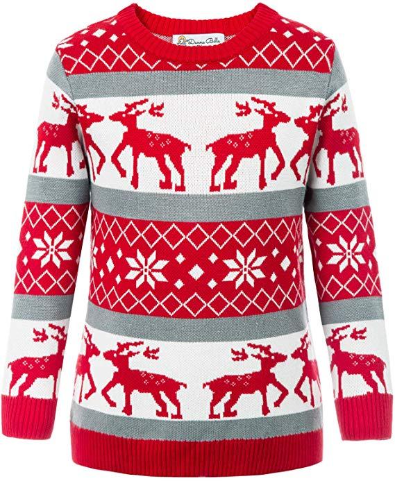 Suess Maedchen Weihnachten Langarm Top Pullover