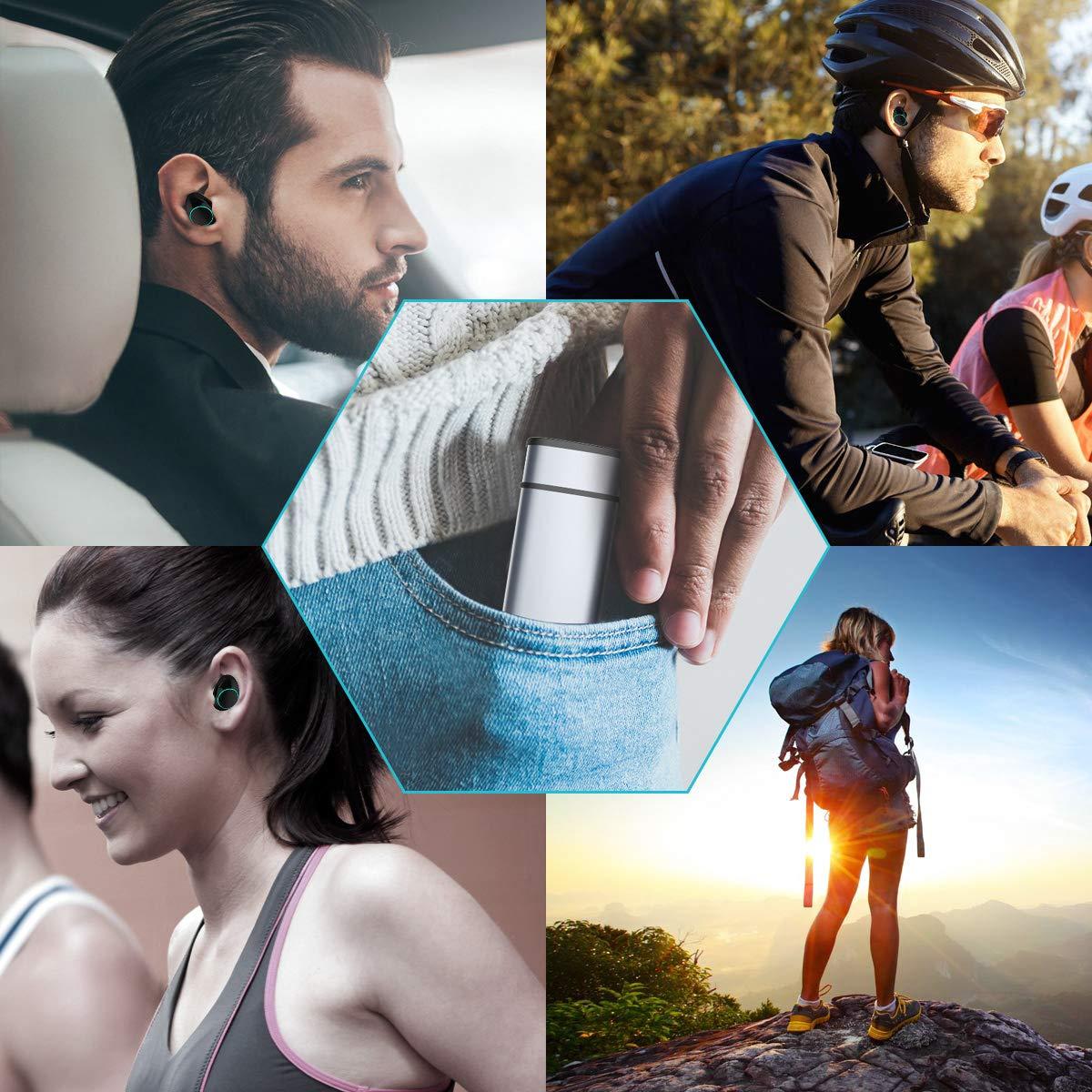 Muzili V5.0 Bluetooth Kopfhörer in Ear Kabellos Bluetooth Headset