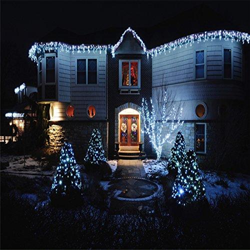 VINGO 200 LED Eisregen Lichternetz Lichterkette Wasserdicht