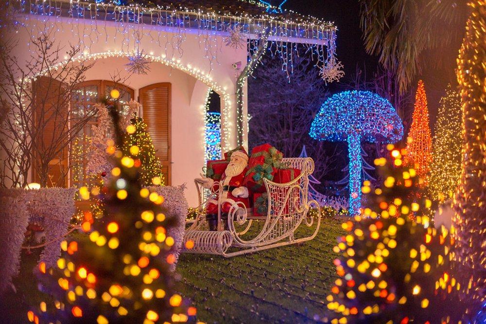 HG® 60M 600 LED RGB Lichterketten 31V Christbaumschmuck Weihnachtsbeleuchtung