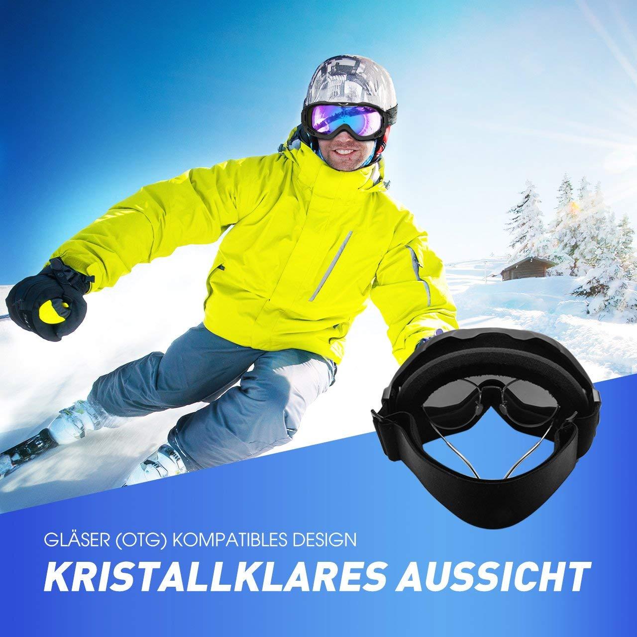 Mpow Skibrille Snowboardbrille