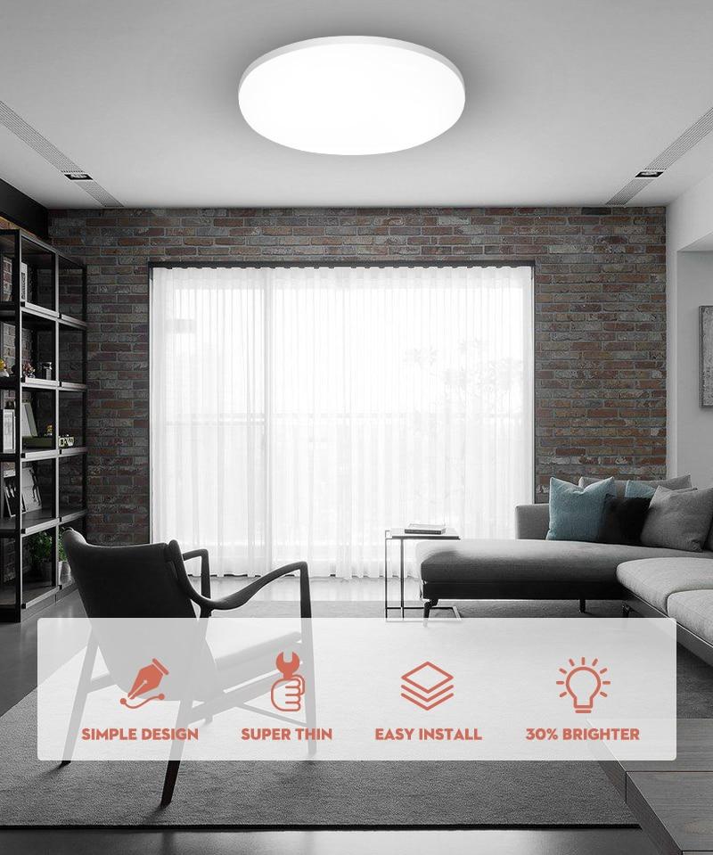 Ultra Dünne LED Decke Lichter 15/20/30/50W Moderne Led Decke Lampen