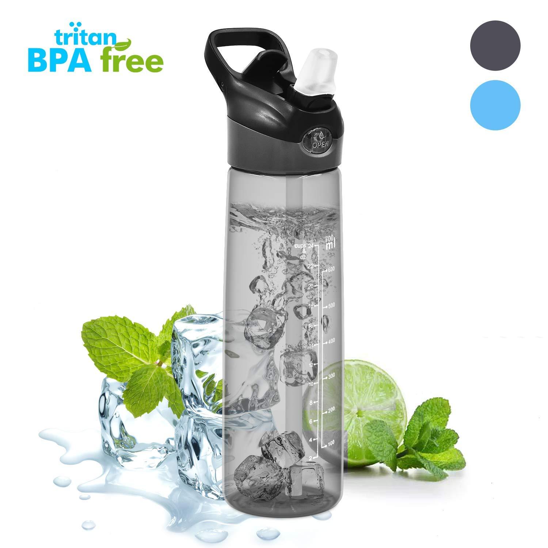 WeluvFit Trinkflasche Sport 700ml Wasserflasche Auslaufsicher