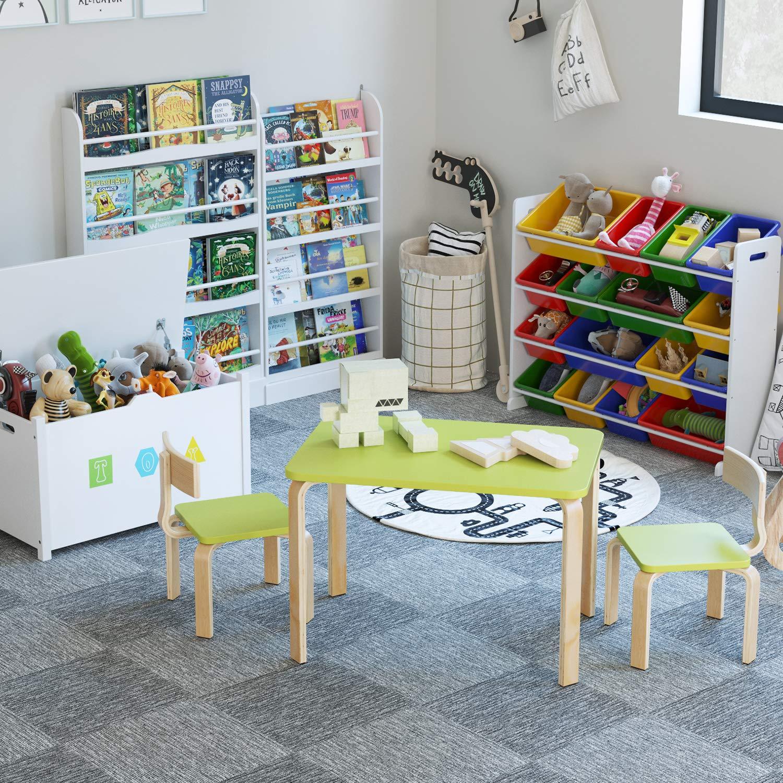 Homfa Kindersitzgruppe Kindertisch Kinderstuhl Sitzgruppe Kindermöbel