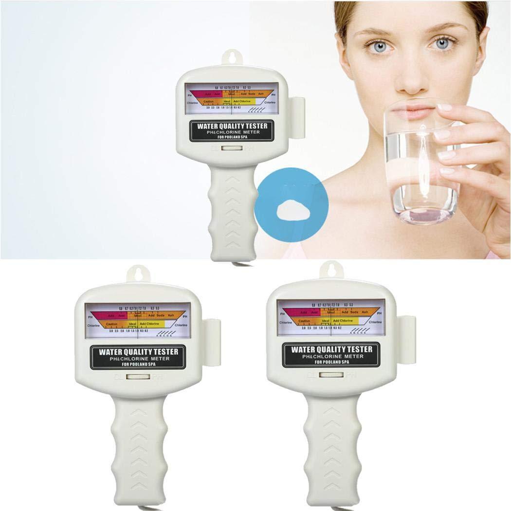 80% off Tester für Schwimmbadwasser PH / CL2 Tester für Chlorwasserqualität pH-Meter