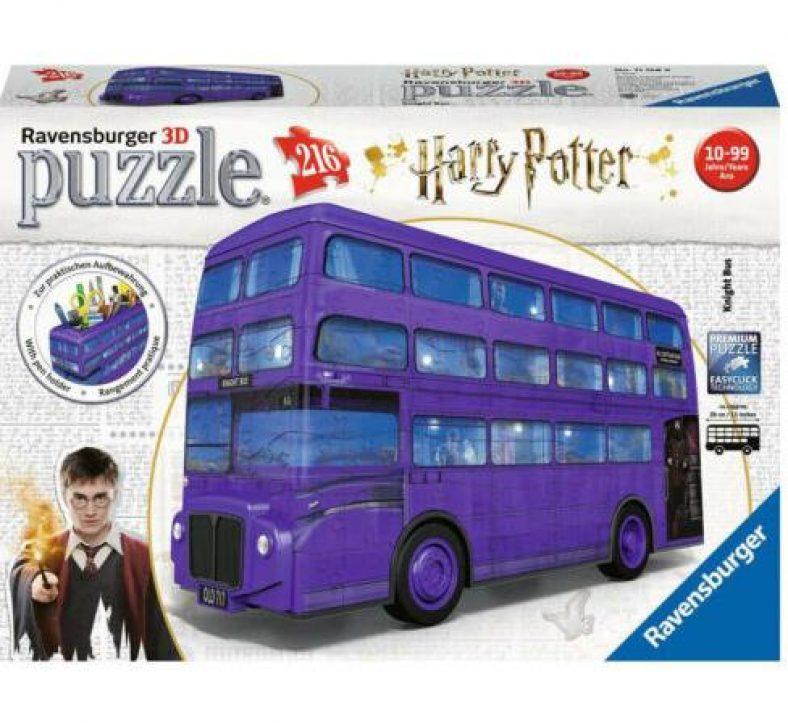 RAVENSBURGER 3D Puzzle Harry Potter Knight Bus Erwachsenenpuzzle 216 Teile