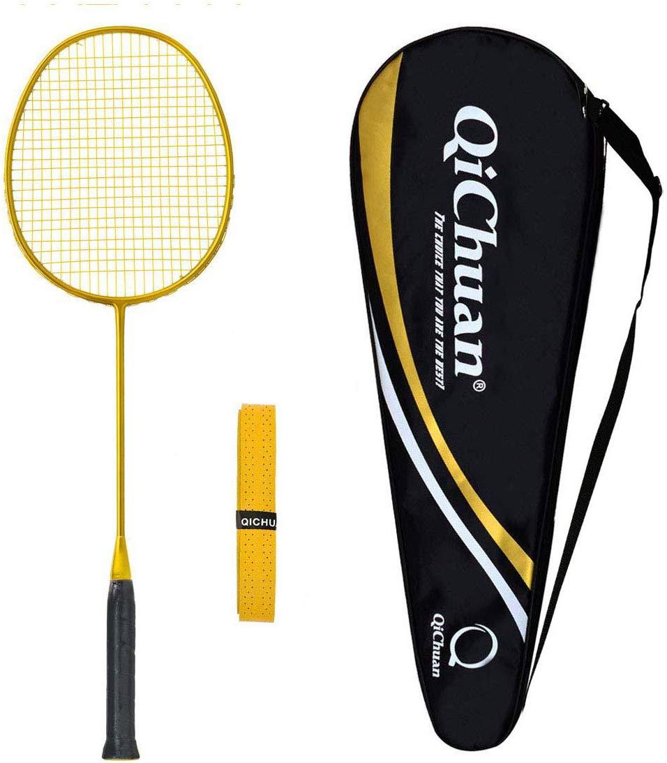 Whizz QICHUAN 100% Graphit One Piece Badminton Schläger Racket