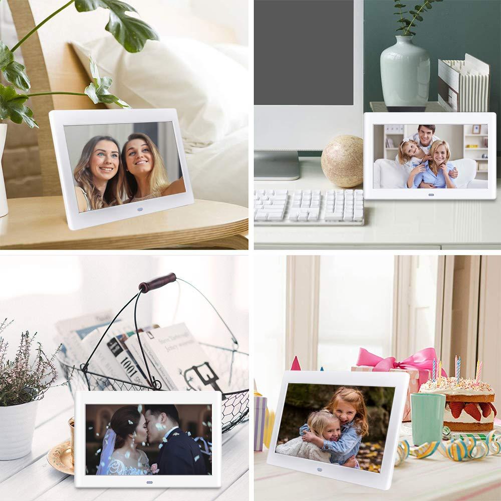 10 Zoll Digitaler Bilderrahmen, NeKan 1024 × 600 Hohe Auflösung
