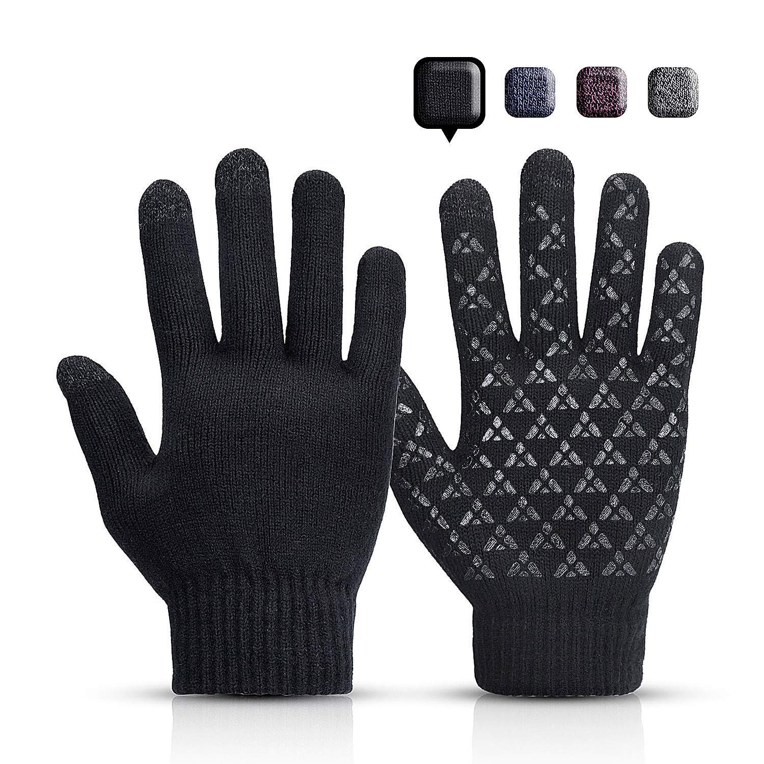 Rongli Stricken Touchscreen Winterhandschuhe