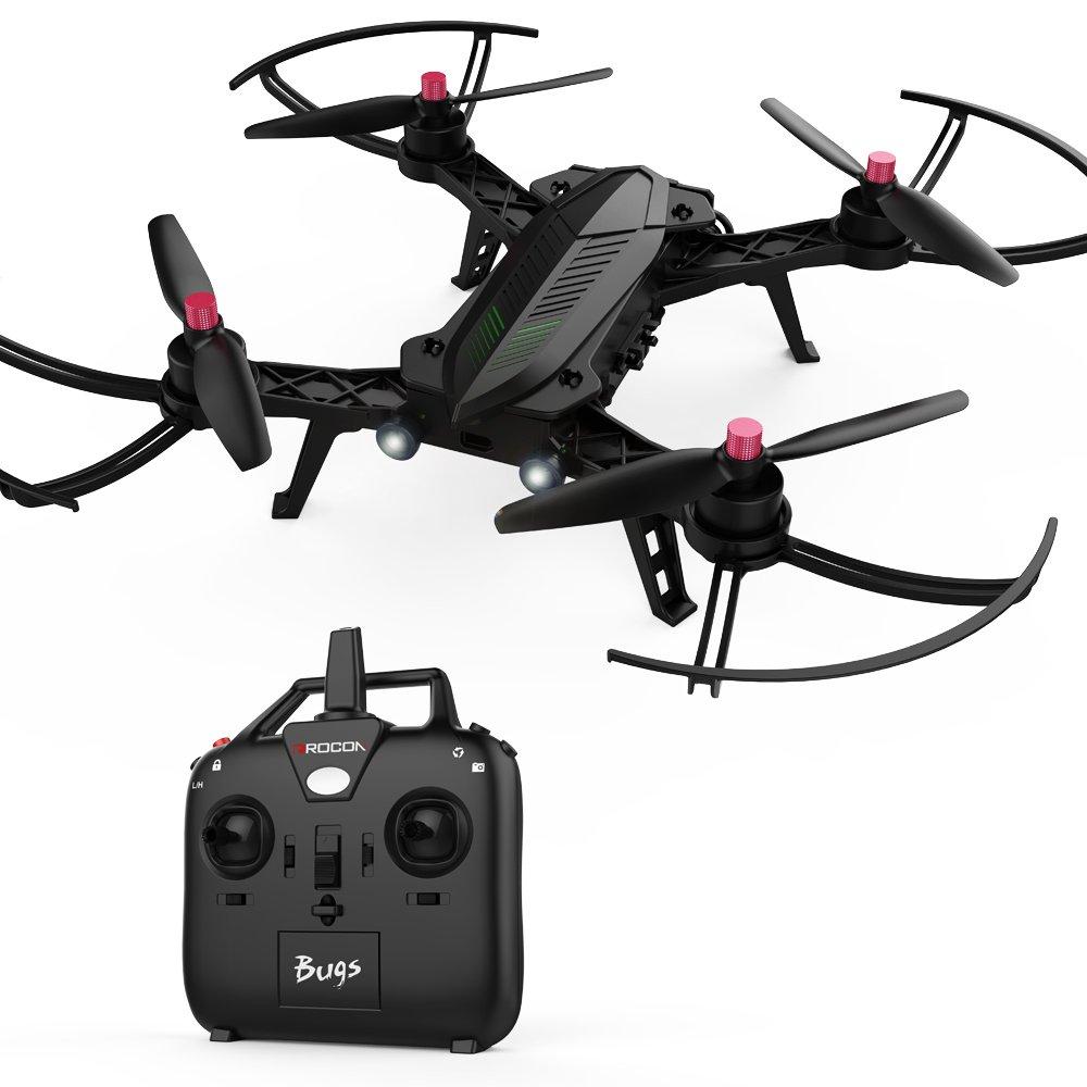 DROCON Bugs 6 Bürstenlose Speedy Drohne Motor Vormontiert RTF Quadcopter zum Training für R/C Renndrohnen