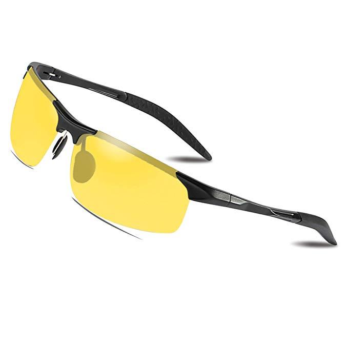 Bircen Nachtsichtbrille autofahren, Nachtfahrbrille Herren und Damen
