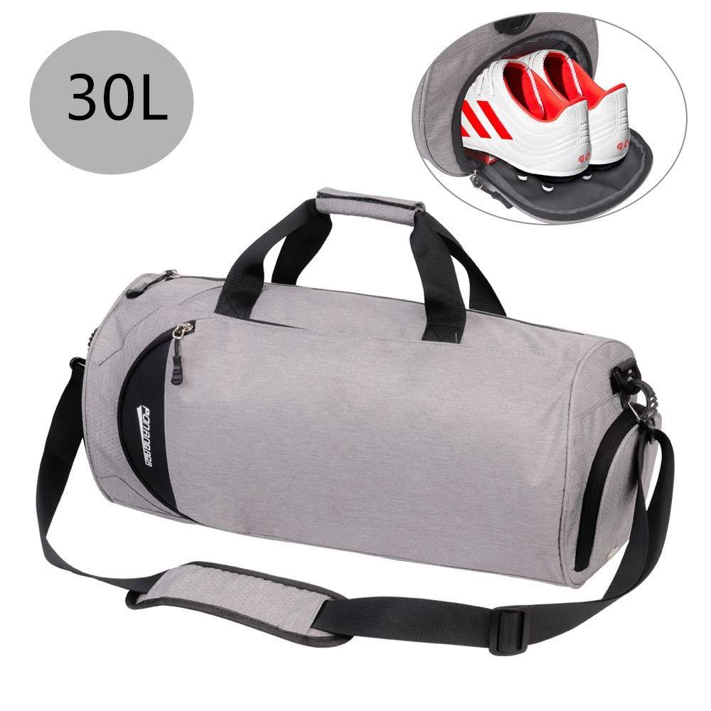 Sporttasche mit Schuhfach Nassfach für Damen/Männer/Junge/Kinder