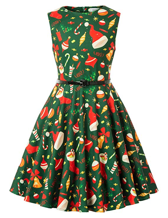 Kate Kasin Suess Maedchen Weihnachten Kleid