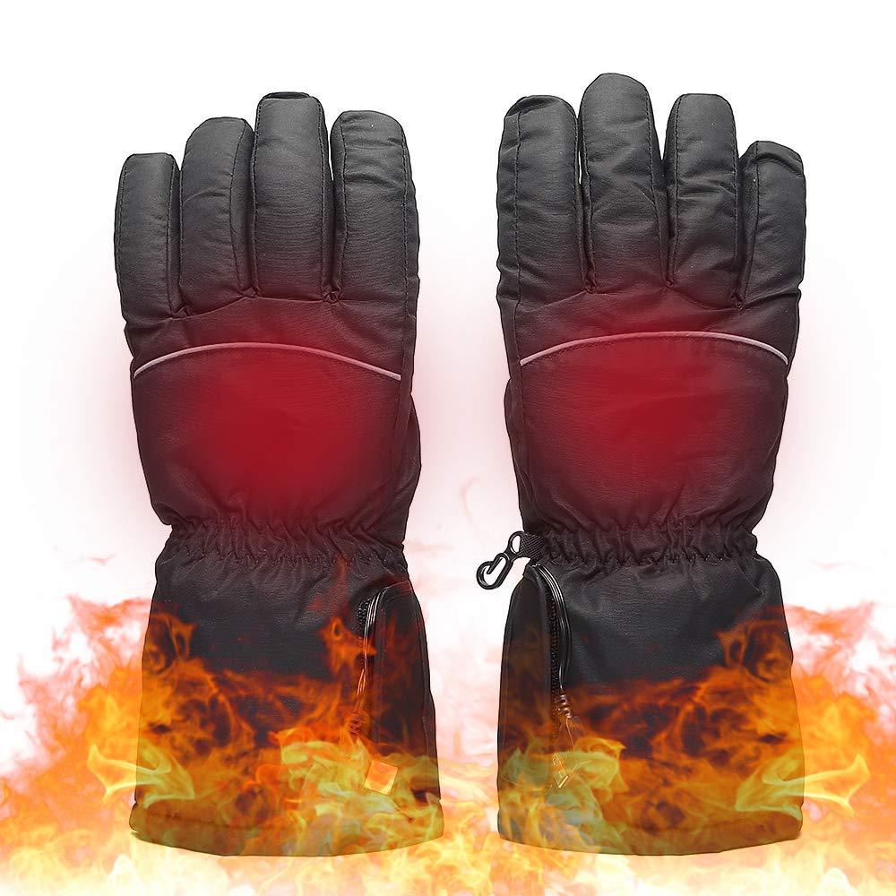 Lixada Beheizte Handschuhe mit Touchscreen Design für Herren Damen