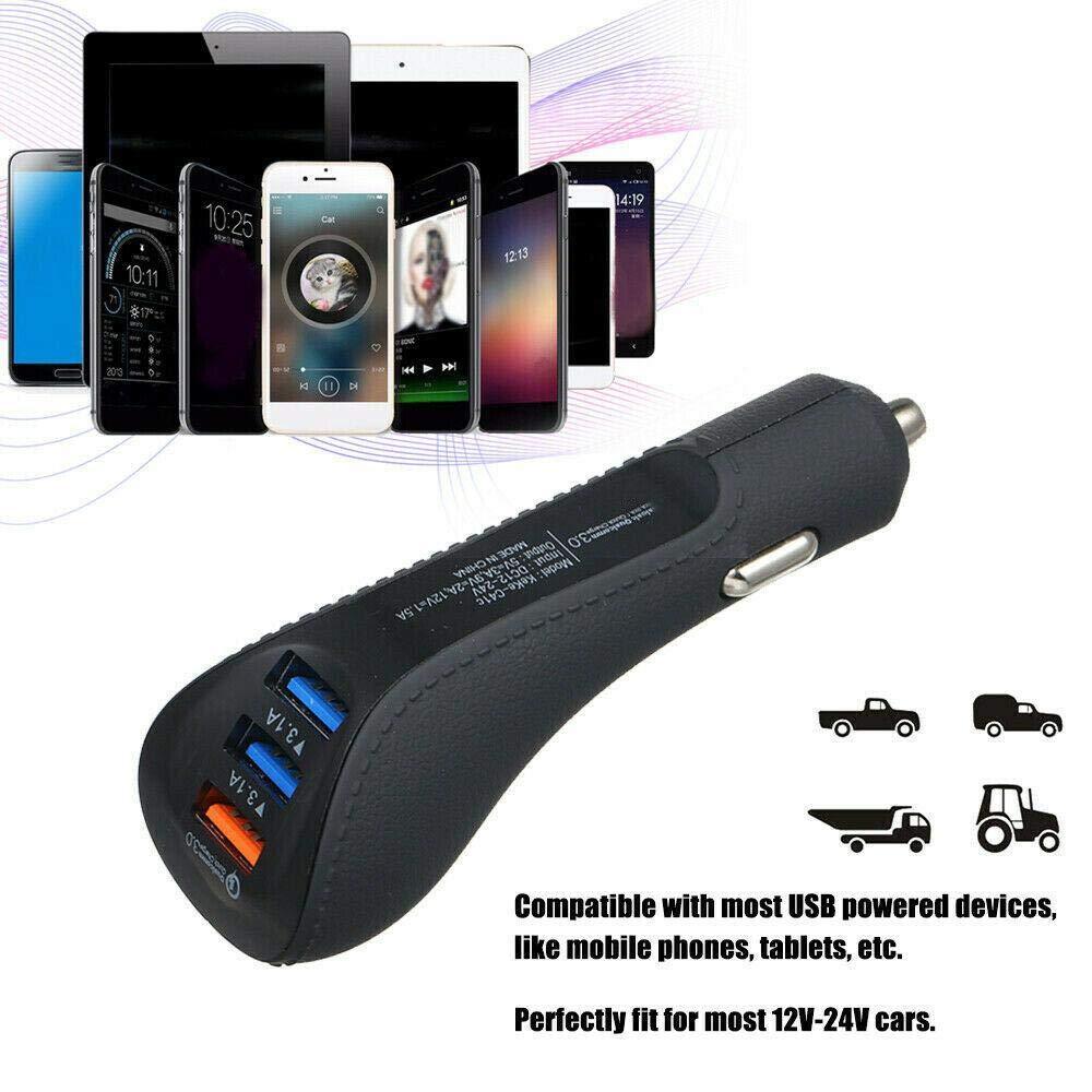 80% off  USB-Autoladegerät-Adapter für das Schnelladeln 3.0 Ladegeräte