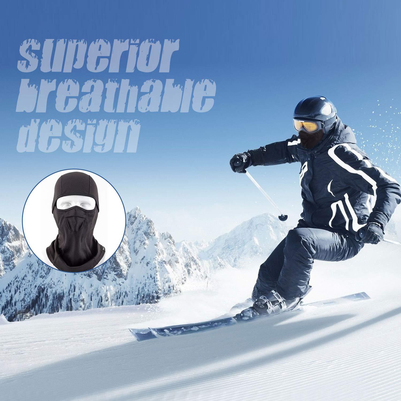 Unigear Sturmhaube, Balaclava Gesichtsmaske Skimaske Gesichtshaube Motorradmaske
