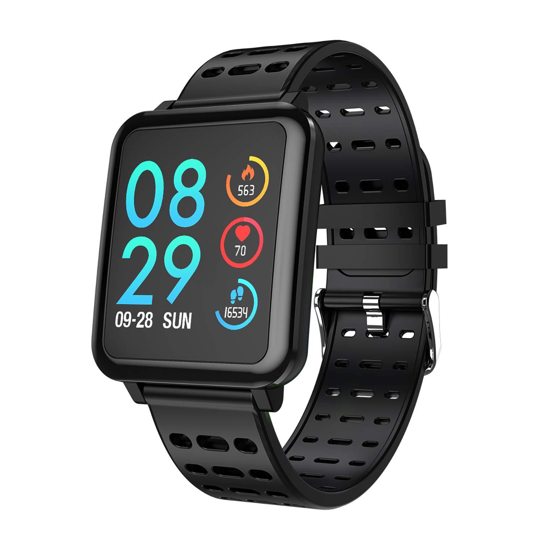 COULAX Smartwatch Fitness Armband Wasserdicht IP67 Fitness Tracker Uhr
