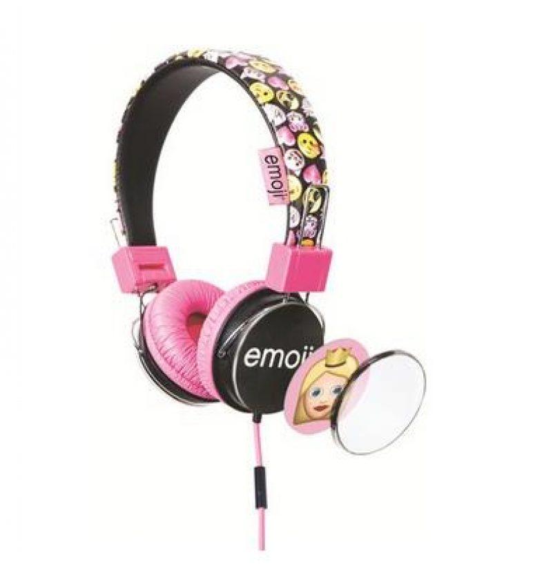 Emoji Kopfhörer pink