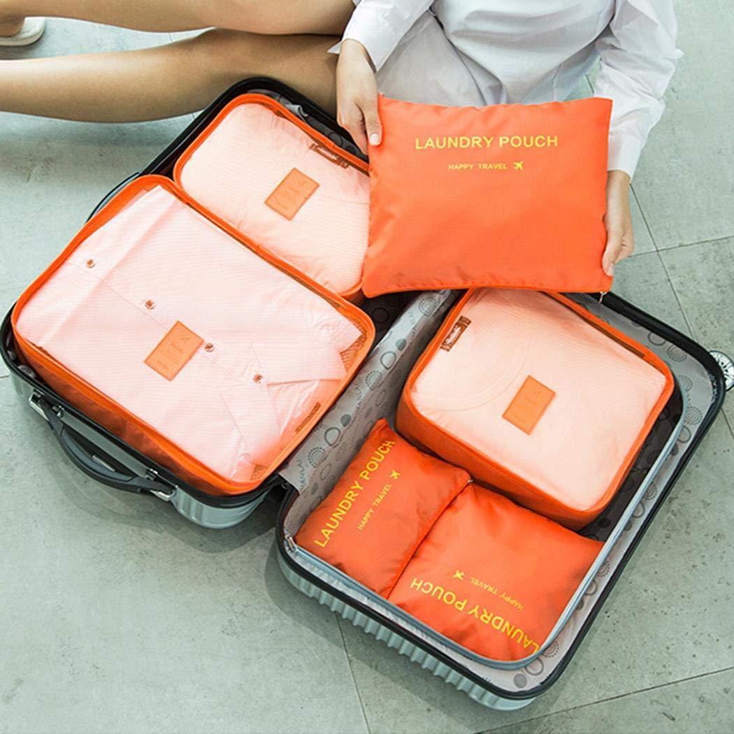 80% off Reise Aufbewahrungstasche 6pcs Kleidung Unterwäsche Finishing-Paket Vakuum-Platzsparer