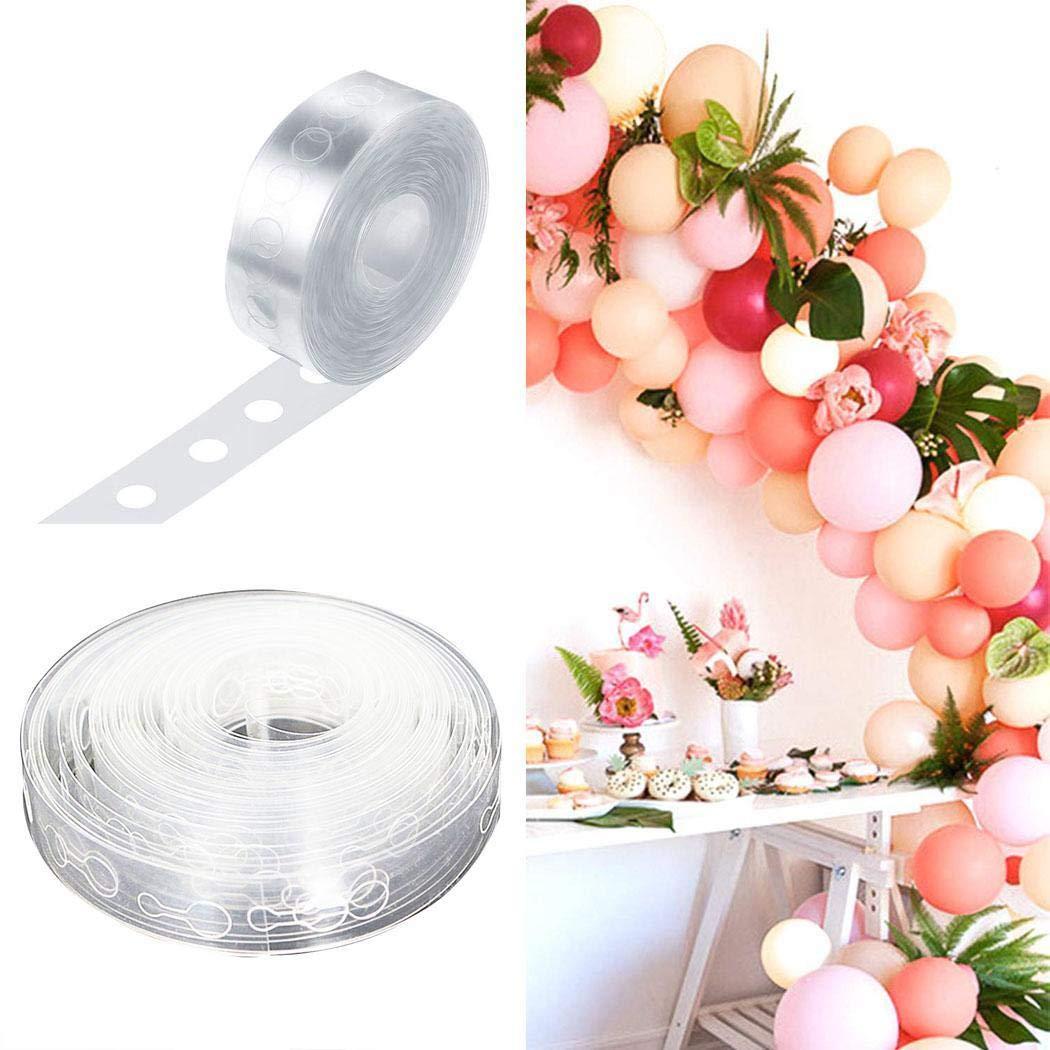 80% off Ballon Bogen Girlande dekorieren Streifen DIY Ballon Tape Bindewerkzeug Dekorationszubehör