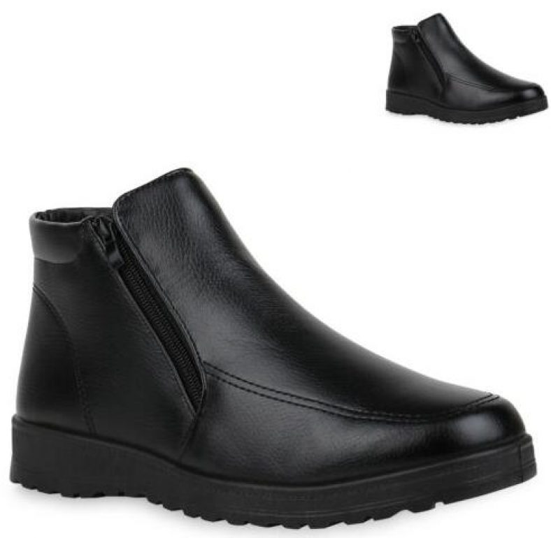 Herren Winter Boots Warm Gefütterte Stiefeletten Winterschuhe 832462 Trendy Neu