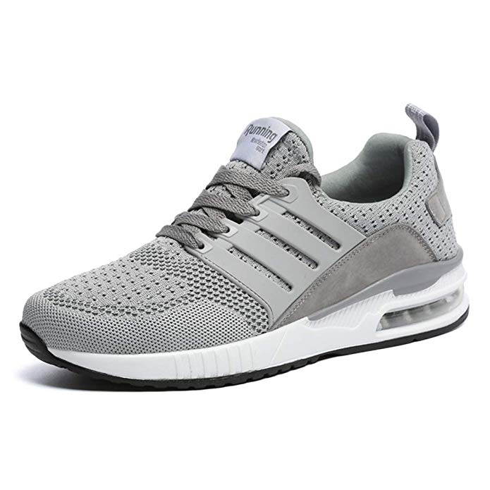JUXINCHI Herren Damen Sneakers Bequeme Atmungsaktiv Laufschuhe