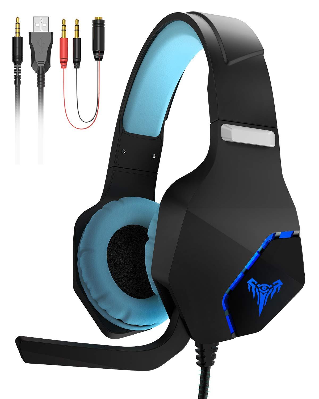 GIARIDE Gaming Headset, Gaming Kopfhörer Surround Stereo