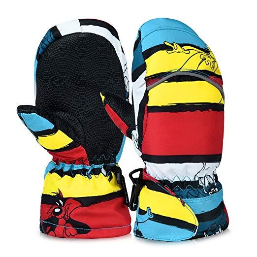 Vbiger Kinder handschuhe ski Handschuhe Warm Winter Handschuhe