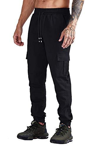 Herren Hosen Cargo Chino Stretch Slim fit Jeanshose Basic Jogger Sporthose Freizeithose