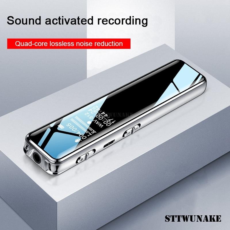 STTWUNAKE mini digital voice recorder audio stift diktiergerät kleine sound recorder