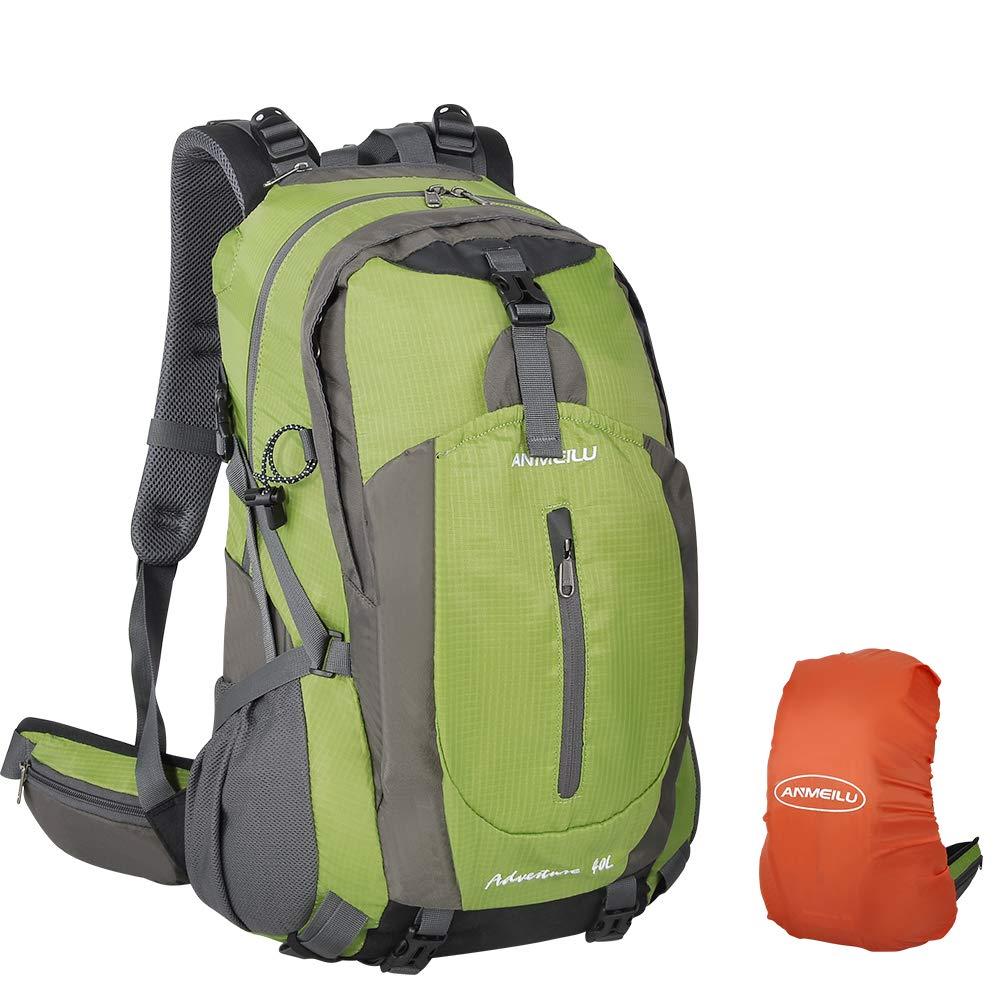 Wanderrucksack 40L Trekkingrucksack Unisex Rucksäcke für Wandern, Bergsteigen und Reisen Sport