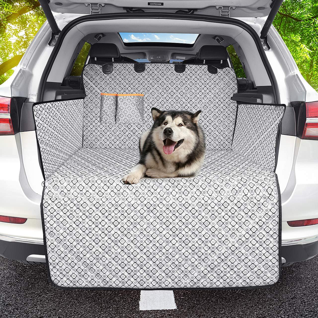 OMORC Kofferraumdecke Hund Auto Wasserdicht und rutschfest,Kofferraumschutz Hund Kofferraummatte Hund