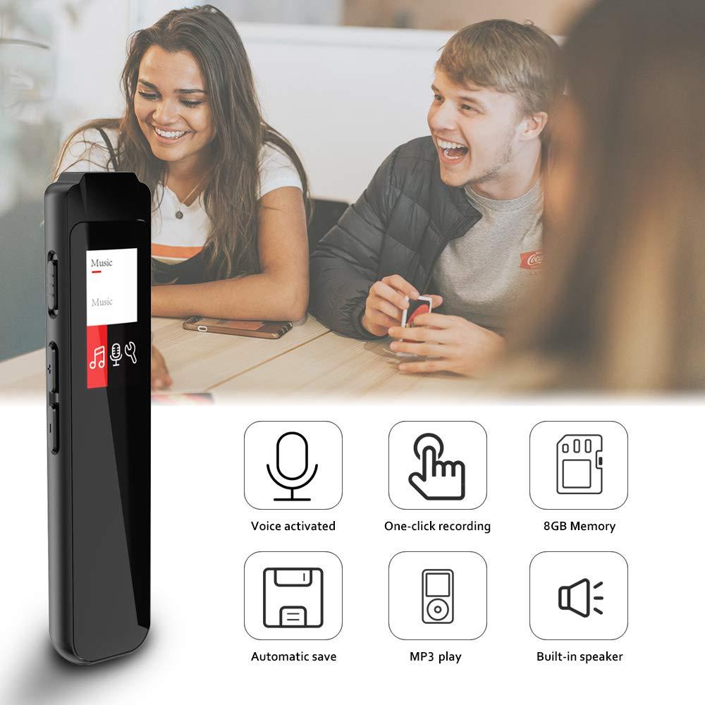 Digitaler Voice Activated Recorder Mini Audio Recorder Voice Recorder