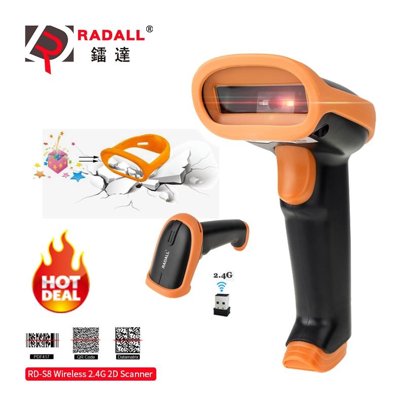 RADALL Wireless Barcode Scanner Wired bar code Scanner