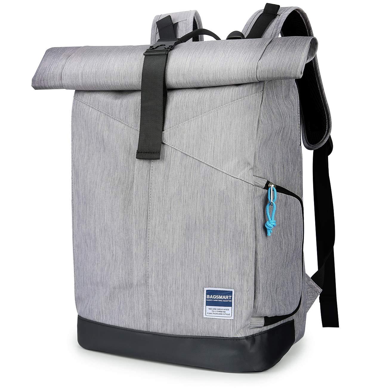 BAGSMART Laptop Rucksack 15.6 Zoll Notebook Reise Backpack Modern Daypack Aktentasche