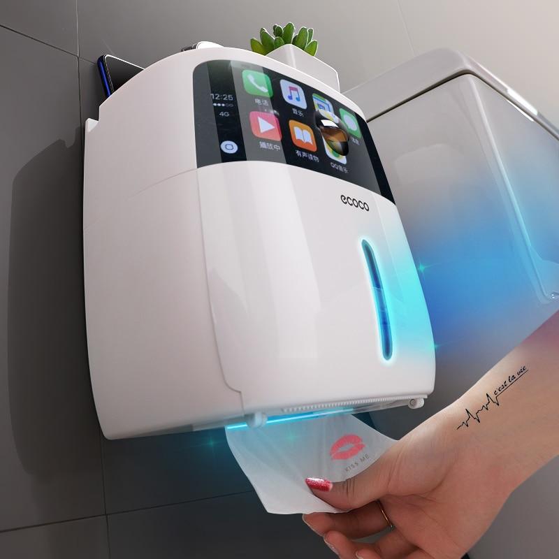 Wasserdicht Wc Papier Halter Für Wc Papier Handtuch Halter Badezimmer Dispenser Lagerung Box