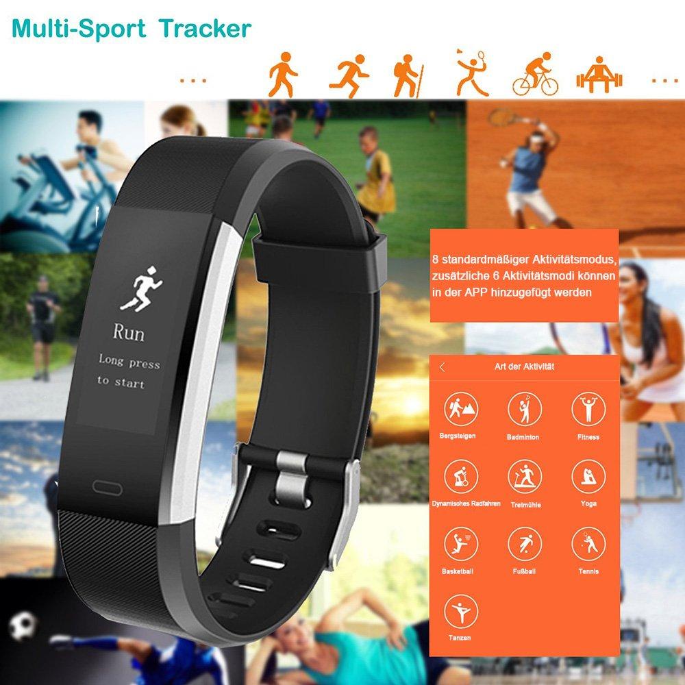 🍀🍀Gewinnspiel🍀🍀 — IP67 Fitness Tracker