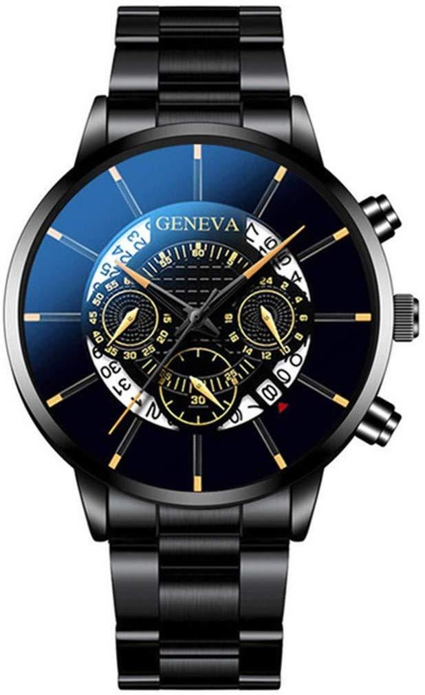 80% Rabatt Fcostume Mode Herren Quarz Chronograph Edelstahl Uhren