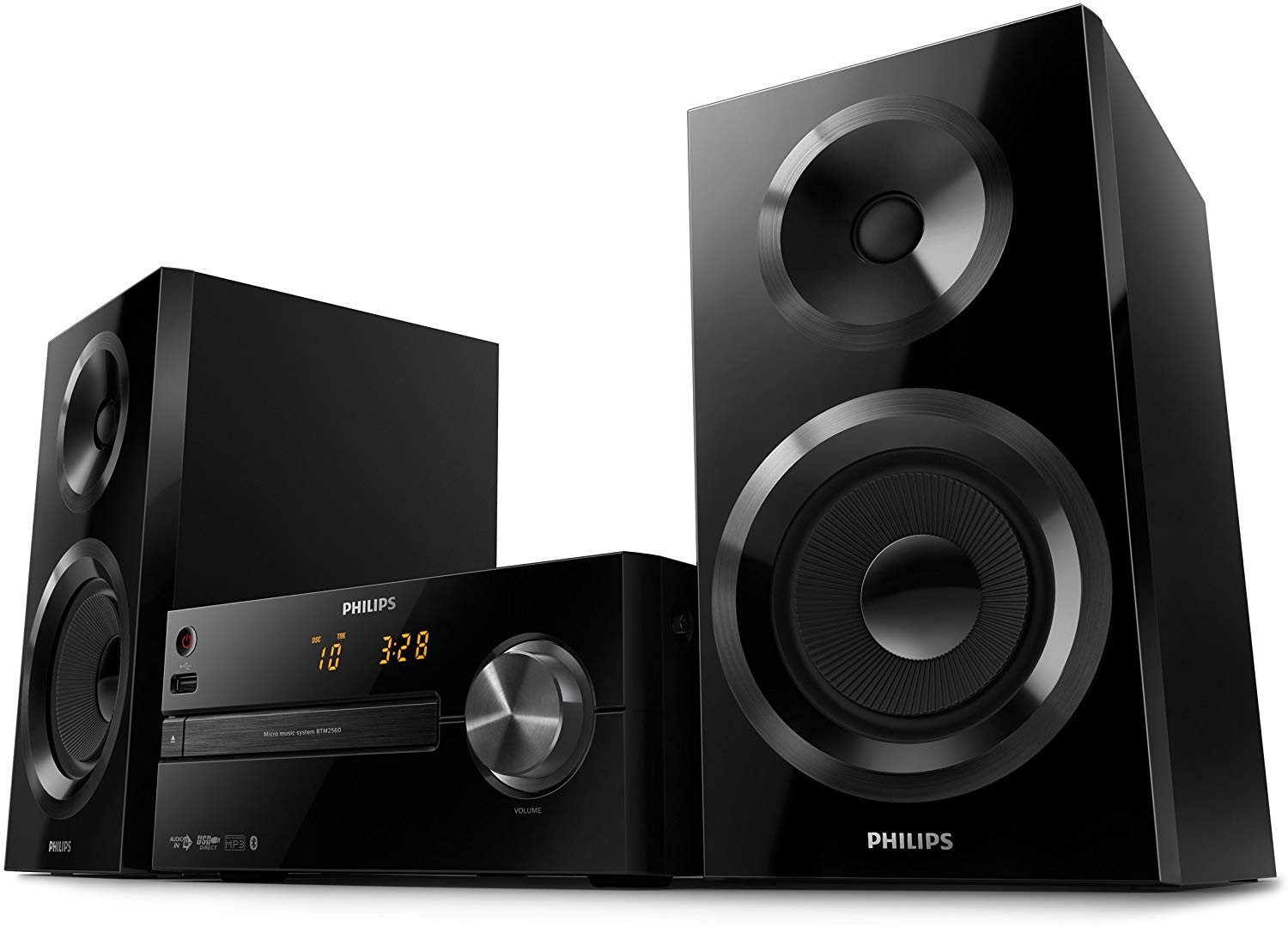 Philips BTM2560/12 Mini Stereoanlage mit Bluetooth