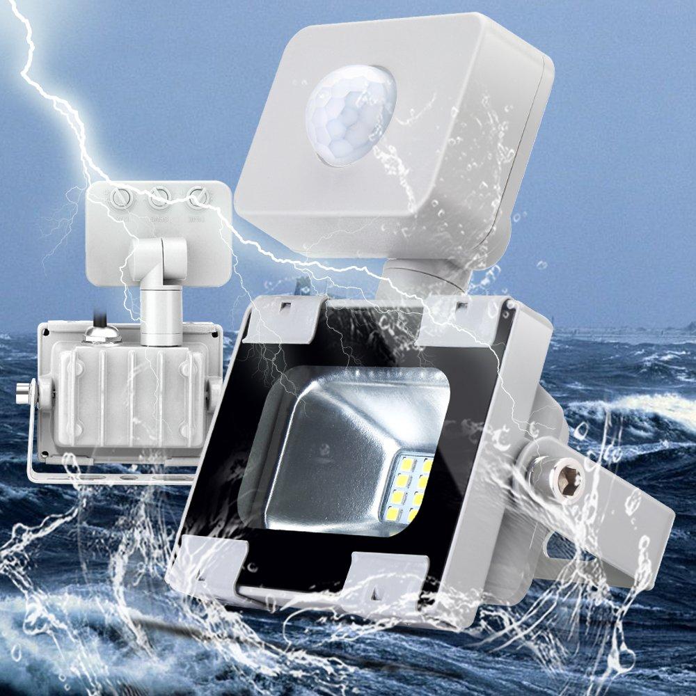 LED Strahler, Sararoom LED Scheinwerfer 10W lED Lampe Flutlicht