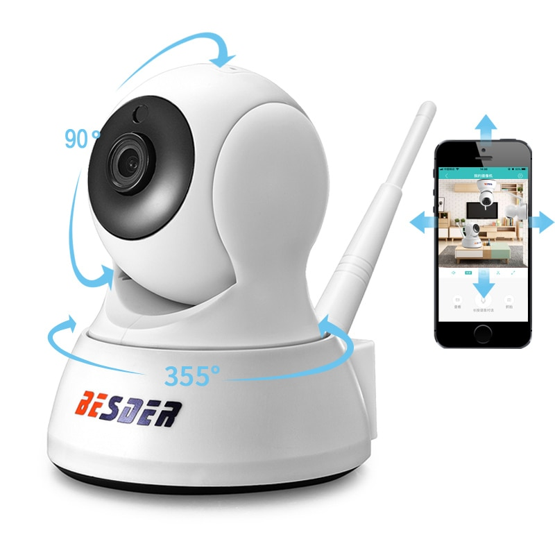 BESDER 1080P 720P Home Security Ip-kamera